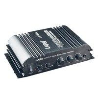 Car Amplifier 2 1 Channel 3 55MM Audio 100 240V Input Wired 168S Mini Hi Fi