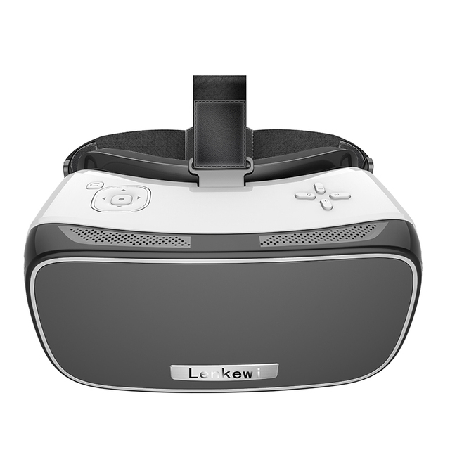 Lenkewi VR ВСЕ В ОДНОМ Android Виртуальная Реальность VR Коробка С Android Wi-Fi Поддержка Bluetooth и 5.5 дюймов HD IPS Дисплей VR гарнитура