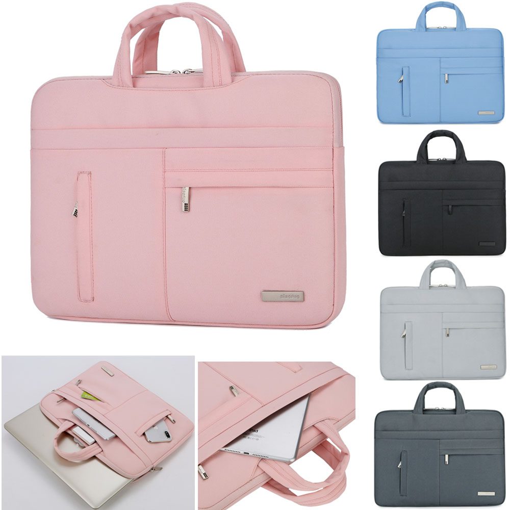 Handbag Sleeve Case For Laptop 13 14,15.6,Portable Bag For MacBook Air Pro Asus Lenovo Acer Dell HP 13.3 image