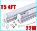 T5 1200mm Integrated 4FT 1.2m 22W LED Tube Light Lamp 96pcs SMD 2835 High Power Warm/Natural/Cool White AC 85-277V