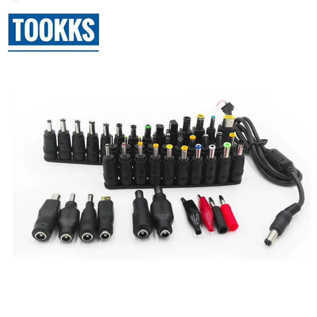 44 in 1 Universal Laptop AC DC Jack Power Supply Adapter Connector Plug for HP IBM Dell Apple Lenovo Sony Acer  Notebook Cable