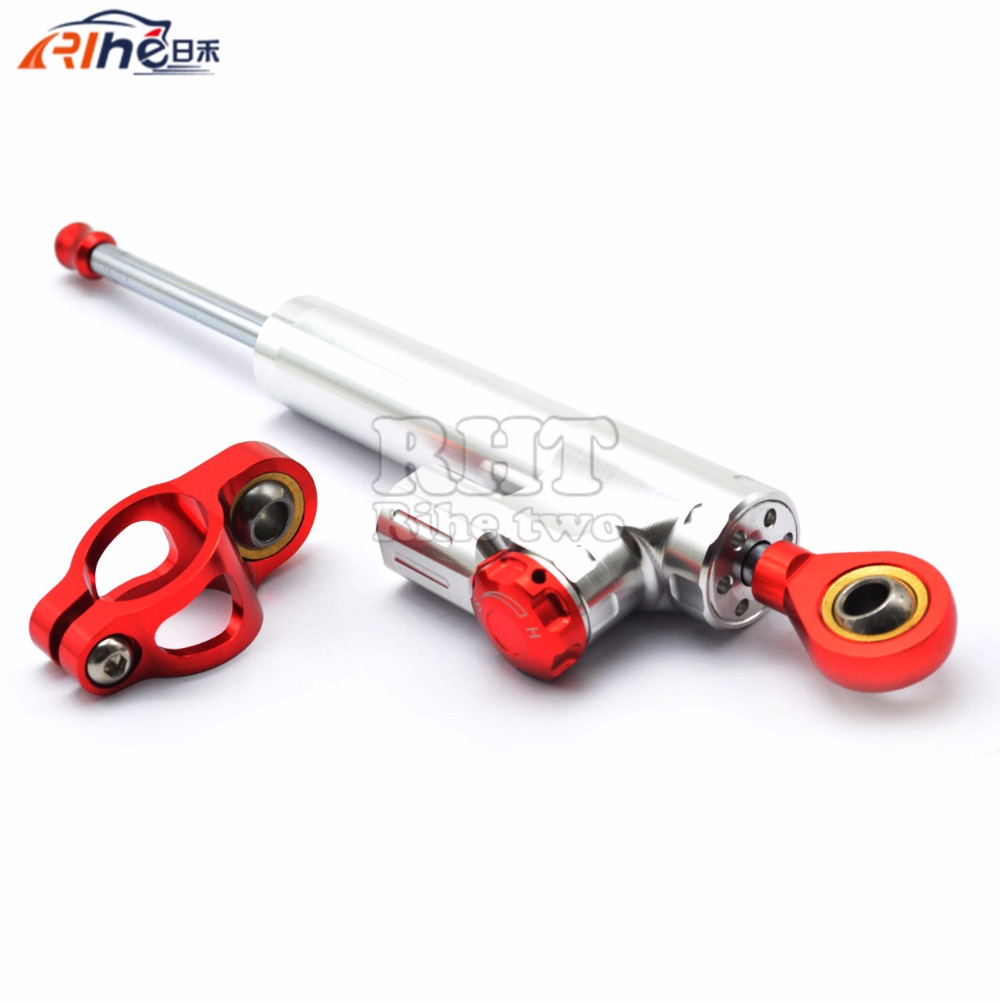 Universal New CNC Aluminum Motorcycle Steering Damper Stabilizer Adjustable For Honda CBR1000RR CBR 1000 RR VTR250 VTR 250 universal new cnc aluminum motorcycle steering damper stabilizer adjustable for yamaha bmw g310r s 1000 rr s1000rr s1000 r hp4
