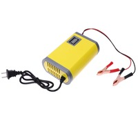 12V 6A Motorcycle Car Auto Battery Charger Intelligent Charging Machine Portable Power Supply Adapter US Plug