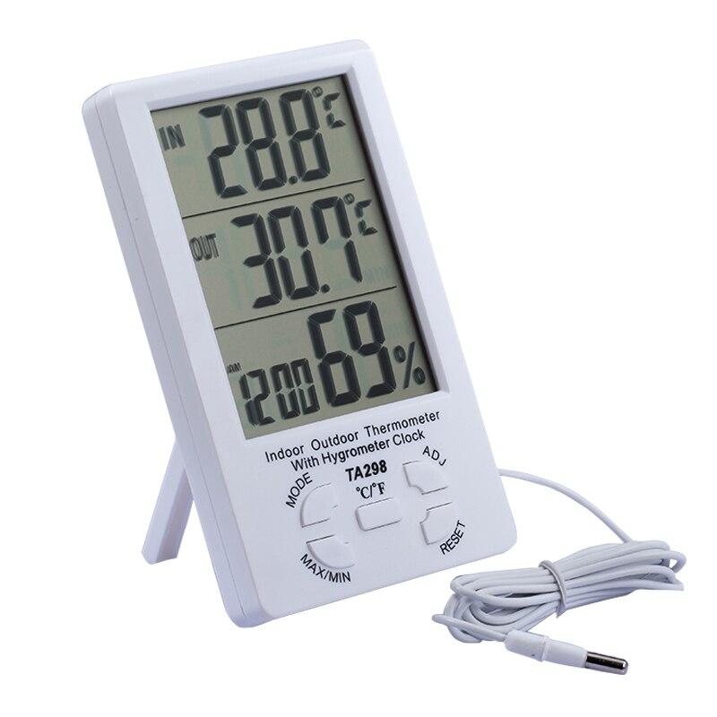Outdoor temperaturanzeige Indoor Outdoor thermometer mit hygrometer ...