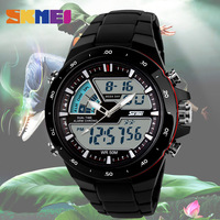 SKMEI Men Sports Watches Fashion Casual Men S Watch Digital Analog Alarm 30M Waterproof Military Multifunctional