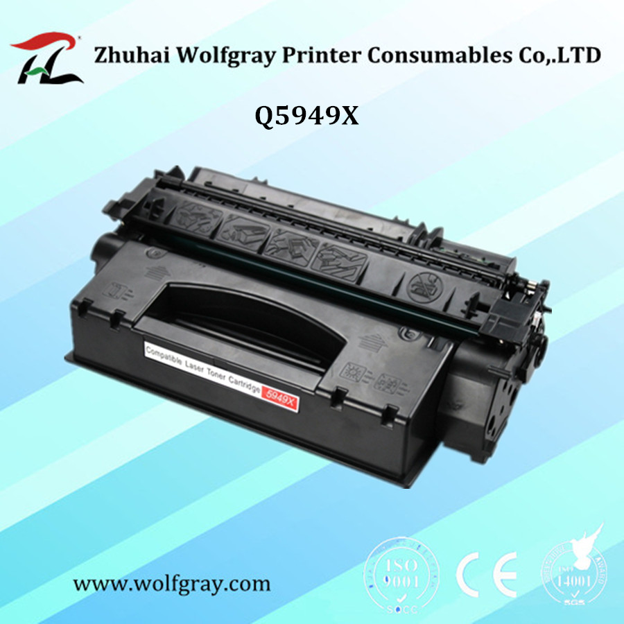 Compatible Q5949X 5949X toner cartridge for HP LaserJet 1320/1320N/1320TN/3390/3392-in Toner Cartridges from Computer & Office    1