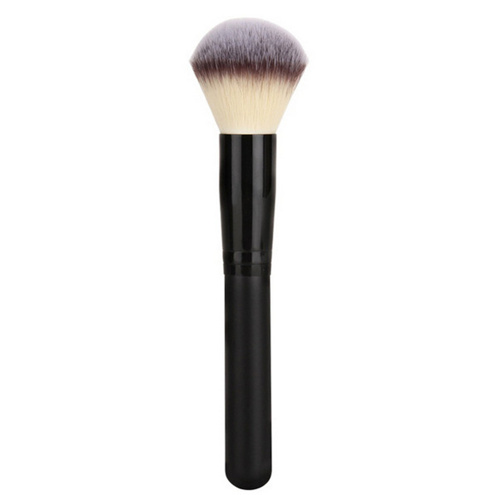 Foundation Borstels Zachte vezel Houten handvat Poeder Blush Brushes Gezicht Makeup Tool Pincel Maquiagem Facial Foundation Makeup Tool
