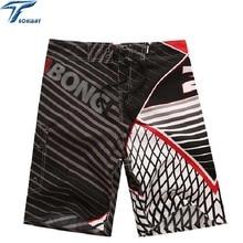 Новые мужские пляжные шорты брендовые пляжные шорты Homme быстросохнущие мужские шорты-бермуды De Marca мужские шорты для серфинга