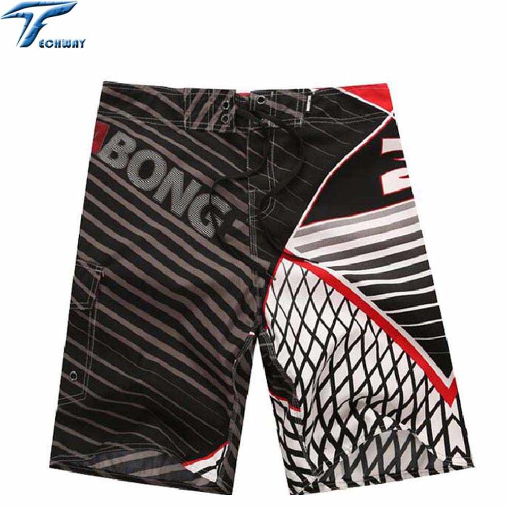 2019 New Men Beach Shorts Brand Boardshort Shorts Homme Quick Drying Bermudas Masculinas De Marca Mens Surf Board Shorts