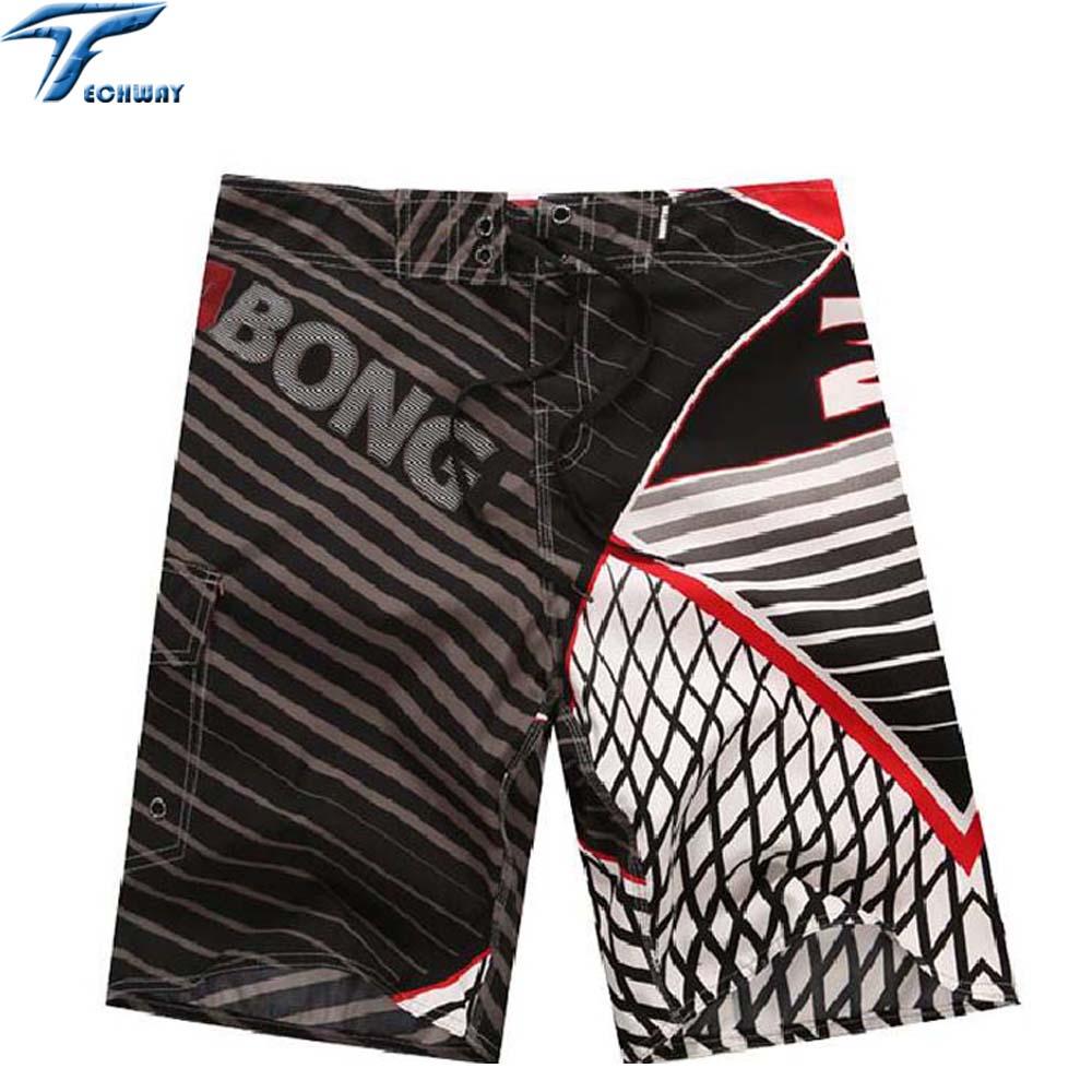 2018 New men beach shorts brand boardshort shorts homme quick drying bermudas masculinas de marca mens surf board shorts
