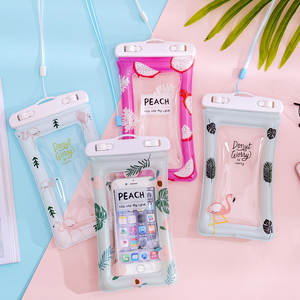 Phone-Case Mobile-Accessories Waterproof-Bag Underwater-Pouch Travel Universal Creative