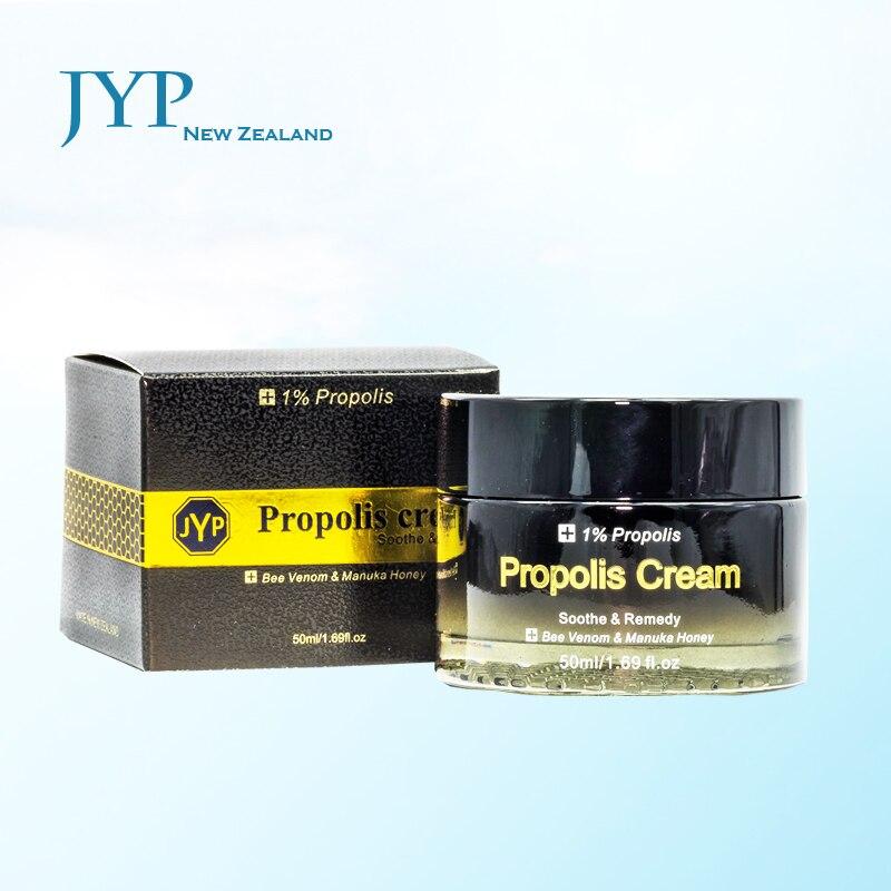 Genuine NewZealand JYP Propolis Moisturiser Cream Bee Venom Manuka Honey Moisturizing Facial cream Anti Aging Firm skin 6 frames reversible honey extractor for bee keeping