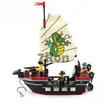 Kits de construção de modelo compatível com blocos de lego cidade pirata 835 3D Educacionais tijolos brinquedos passatempos para crianças