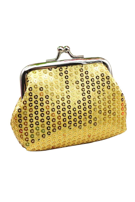 VSEN Hot Women's Sequins Coin Purse Buckle Mini Wallet vsen hot styleluggage bag replacement plastic 1 side rectangle buckle 10 pcs