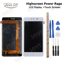 For HighScreen Power Page BLU Energy x2 E050U LCD Display and Touch Screen Good Screen Digitizer Assembly Replacement +Tools