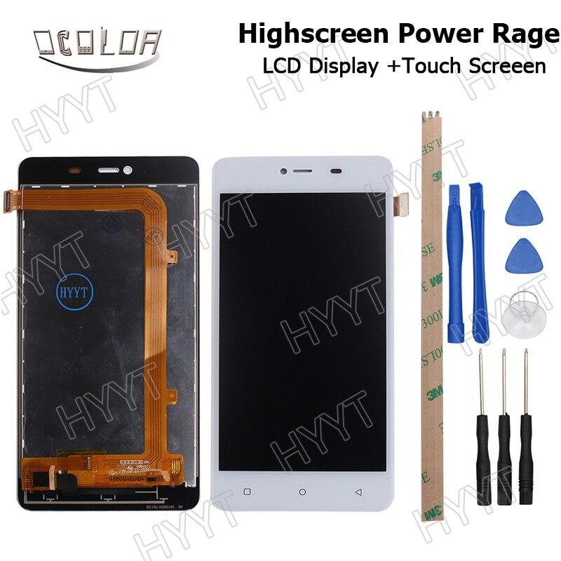 imágenes para Para HighScreen Potencia Página BLU Energía x2 E050U Pantalla LCD Display y Pantalla Táctil Original Digitalizador Asamblea Reemplazo + Herramientas