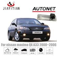 Câmera de Visão Traseira Para nissan maxima QX JiaYiTian 2000 ~ 2006 A33 CCD/Night Vision câmera de segurança Da Placa câmera