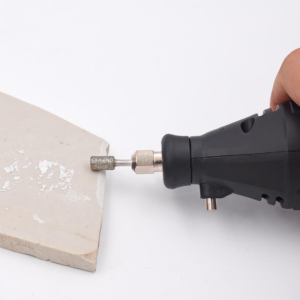 20 pz diamante rettifica frese trapano elettrico strumento abrasivo - Utensili abrasivi - Fotografia 4