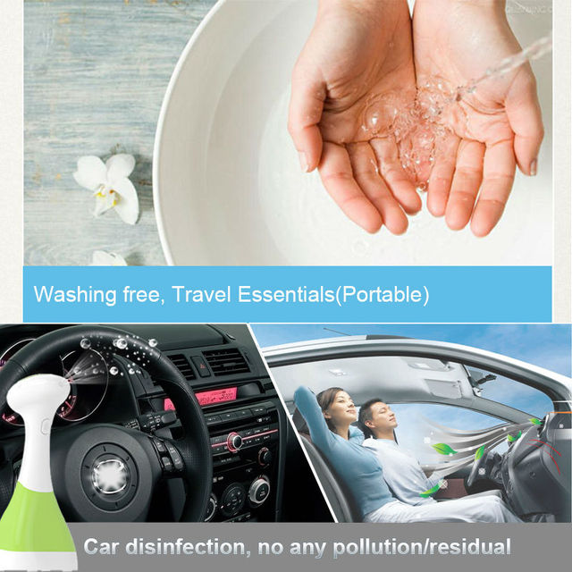 Gerador de ozônio de tratamento de água de ozônio carro elétrico desodorizador desodorizador de calçados máquina de spray desinfetante desinfetante da pele