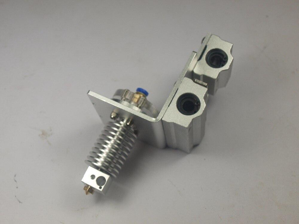 Prusa i3 3D imprimante pièces axe X bowden alimentation extrémité chaude et X kit de chariot d'exturder en métal avec chariot d'extrudeuse bowden