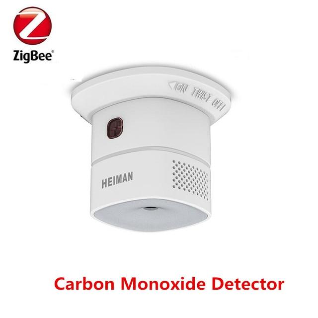 HEIMAN HS1CA-M Latest Zigbee Carbon monoxide detector  CO gas detector with Zigbee certificate