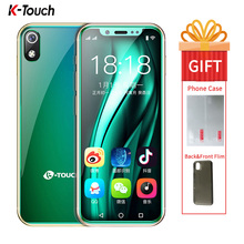 K-TOUCH I9 Super Mini Mobile phone 3GB 32GB Celular 2000mAh Android 8.1 Smartphone Face Unlock GPS WIFI 2GB 16GB Cellphone