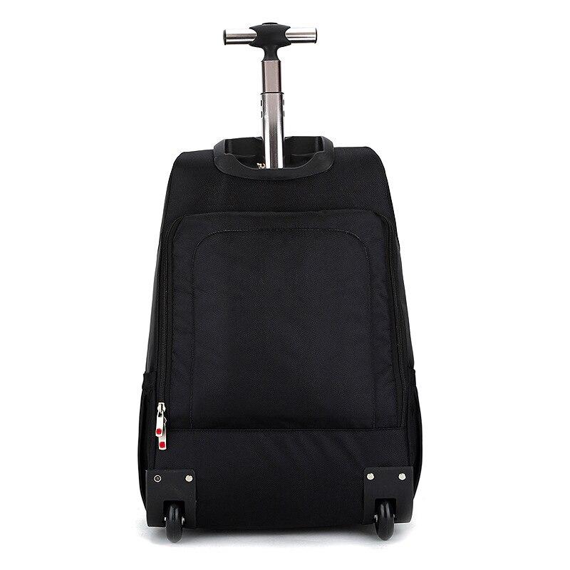 LeTrend Ultralight Oxford กระเป๋าเดินทาง Multifunction กระเป๋าสะพายกระเป๋าเดินทางล้อ Luggage20 นิ้วรถเข็น-ใน กระเป๋าเดินทาง จาก สัมภาระและกระเป๋า บน   3
