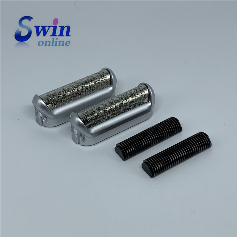 2PCS Shaver Foil & Cutter Head For BRAUN  550 570 P40 P50 P60 M30 M60 M90 555 575 5604 5607 5608 560
