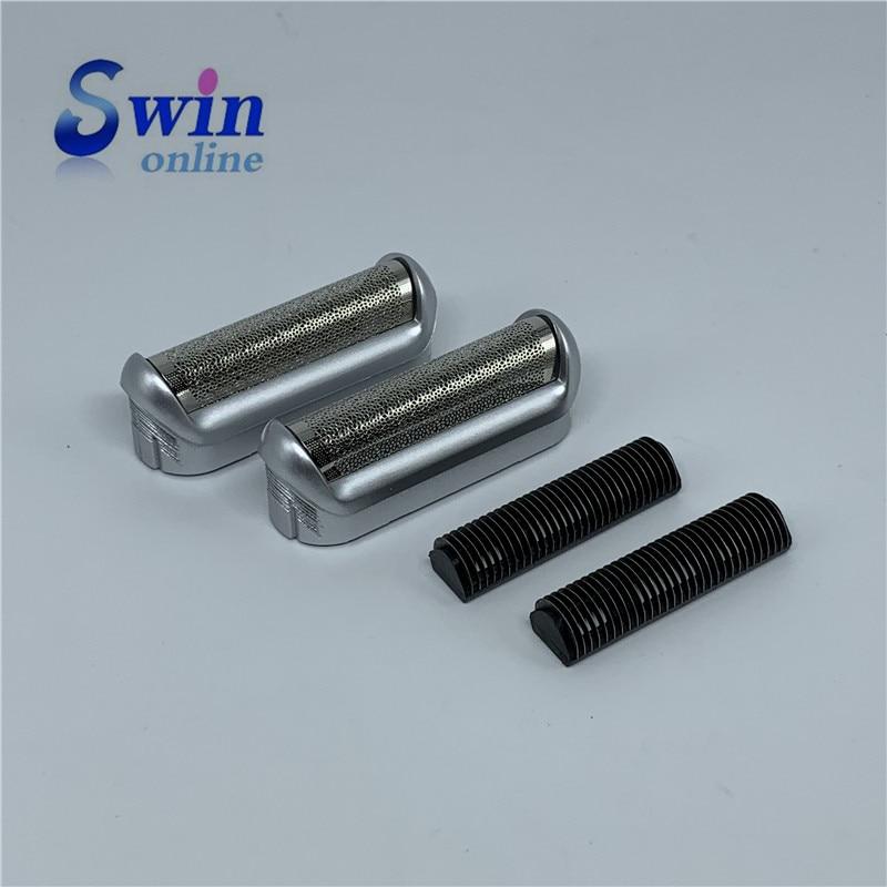 2PCS Shaver Foil & Cutter Head For BRAUN  550 570 P40 P50 P60 M30 M60 M90 555 575 5604 5607 5608 5602PCS Shaver Foil & Cutter Head For BRAUN  550 570 P40 P50 P60 M30 M60 M90 555 575 5604 5607 5608 560