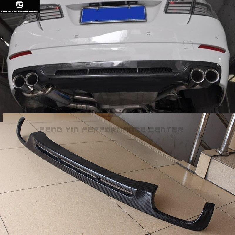 F10 Carbon Fiber HM style Auto Car rear bumper diffuser lip For BMW F10 standard Bumper HM style 10 17