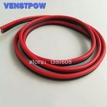 1 м/лот красные, черные 2 Шпильки 14awg LED расширение разбавленной Медный провод кабель с Провода сечением 2.0 ПВХ изоляцией Провода для автомобиля