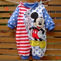 Cute Long Sleeve Overall Baby Romper Kids Jumpsuit Infantil Girl Boy Jumper 2016 Fall Newborn Infant Clothes Bebe Clothing Wear