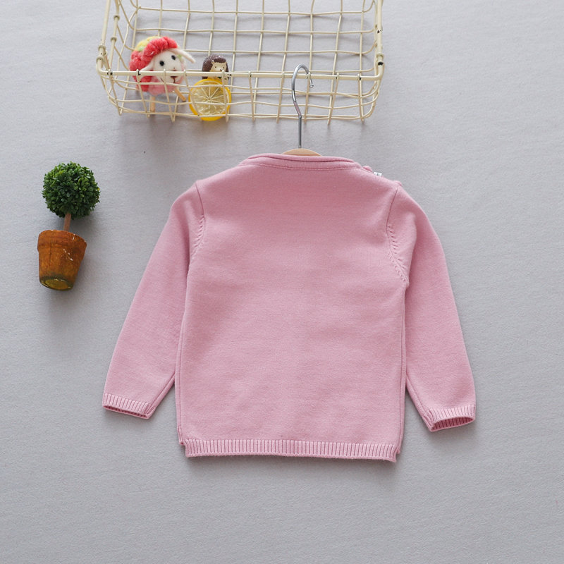 Casual-Autumn-Children-Girls-Cardigan-Baby-Infants-Long-Sleeve-Balls-Outwear-Knitting-Knitwear-Sweater-Camisola-Casaco-MT1338-5