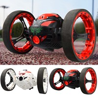 Kids 2.4GHz 360 Degree Rotation Bounce Car Spins Remote Control Electric RC Stunt Car Vehicle Toys for Birthday Christmas Gifts