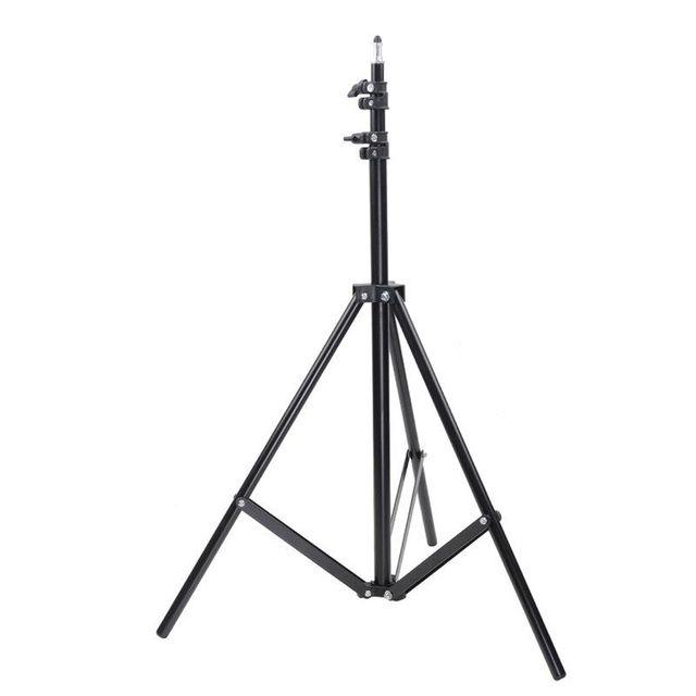 50 70 160 200ซม.การถ่ายภาพขาตั้งกล้องยืนสำหรับRingLightถ่ายภาพกล้องRelfectors Softboxesพื้นหลังสตูดิโอชุด