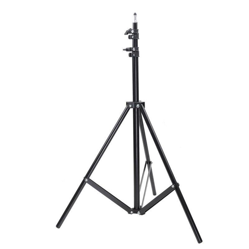 50 70 160 200CM trípode de fotografía soportes de luz Estudio de foto relectors Softboxes fondos de luces Kits de estudio de iluminación de vídeo