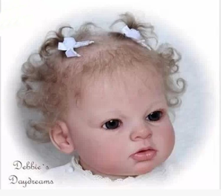 ФОТО hotsale  reborn doll doll kit Arianna by Rev  DIY blank kit soft silicone vinyl real gentle touch