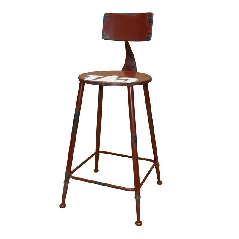 tienda online barato americana loft campo francs para hacer el viejo retro metal taburete de barra alta sillas taburete de bar taburete sillas aliexpress