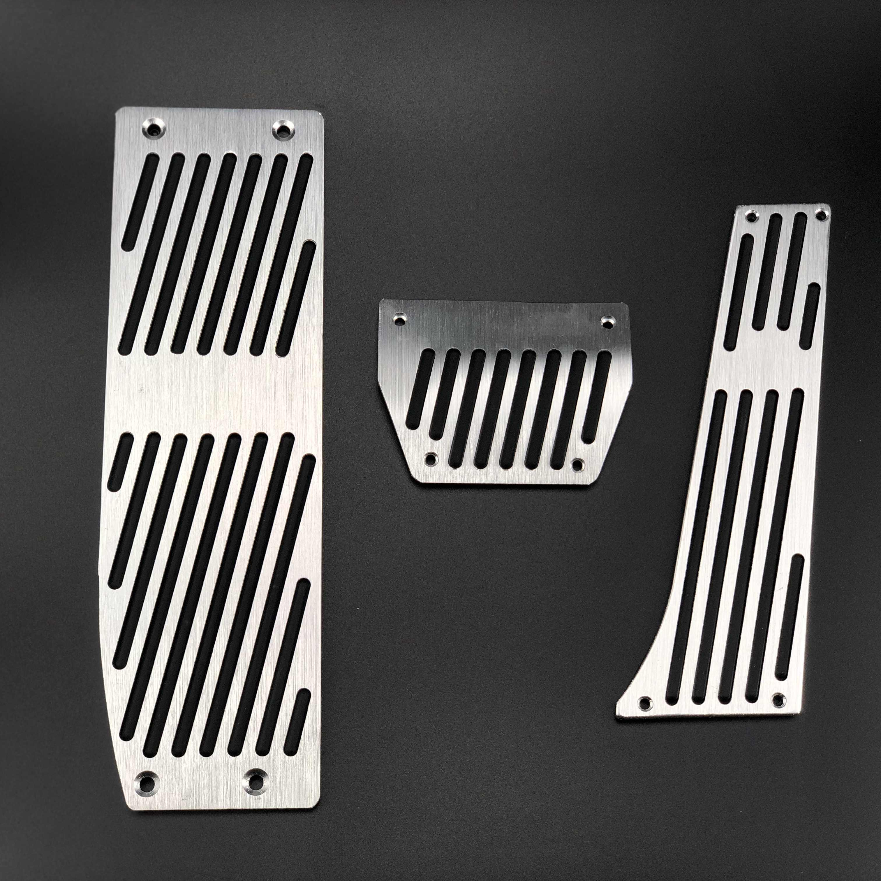 Monland Car Styling Accessories Case Footrest Pedal,for 3 5 Series E30 E32 E34 E36 E38 E39 E46 E87 E90 E91 x5 x3 Z3