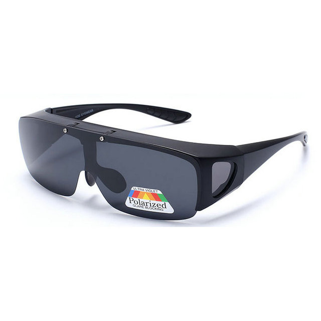 00ef7bbe03 MINCL  Fit Over Wrap Around Glasses Goggles Graduated Polarized Night Tug  Above Night Vision Driving