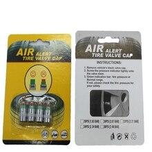 Universal 4PCS/SET 2.4bar 36PSI Car Auto Tire Pressure Monitor Valve Stem Caps Sensor Indicator Eye Alert Diagnostic Tools