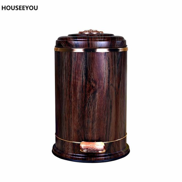 poubelle de cuisine en bois beautiful poubelle de cuisine manuelle frandis mtal acier chrom l. Black Bedroom Furniture Sets. Home Design Ideas