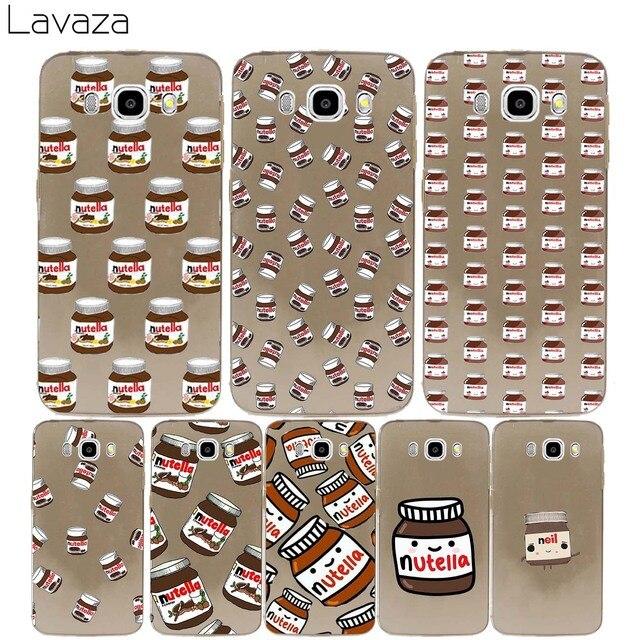 Lavaza Chocolate Food Tumblr Nutella Hard Cover Case For Samsung