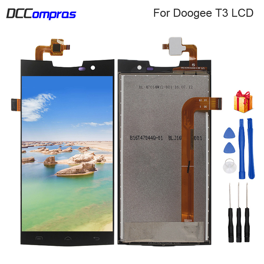 For Doogee T3 LCD Display Touch Screen Digitizer Repair Parts For Doogee T3 LCD Screen Display Replacement With Free ToolsFor Doogee T3 LCD Display Touch Screen Digitizer Repair Parts For Doogee T3 LCD Screen Display Replacement With Free Tools