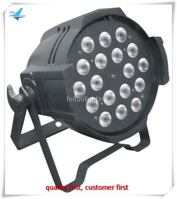 Hot Sell 2pcs/lot LED Par Light Stage Lighting 18 10w RGBW 4IN1 Wedding Uplight Bright Par Wash DJ Par Can Disco Party Lighting