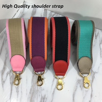 New Fashion lady tape street photograph crossbody bag strap wide replace Aiguillette high quality canvas long shoulder strap hot