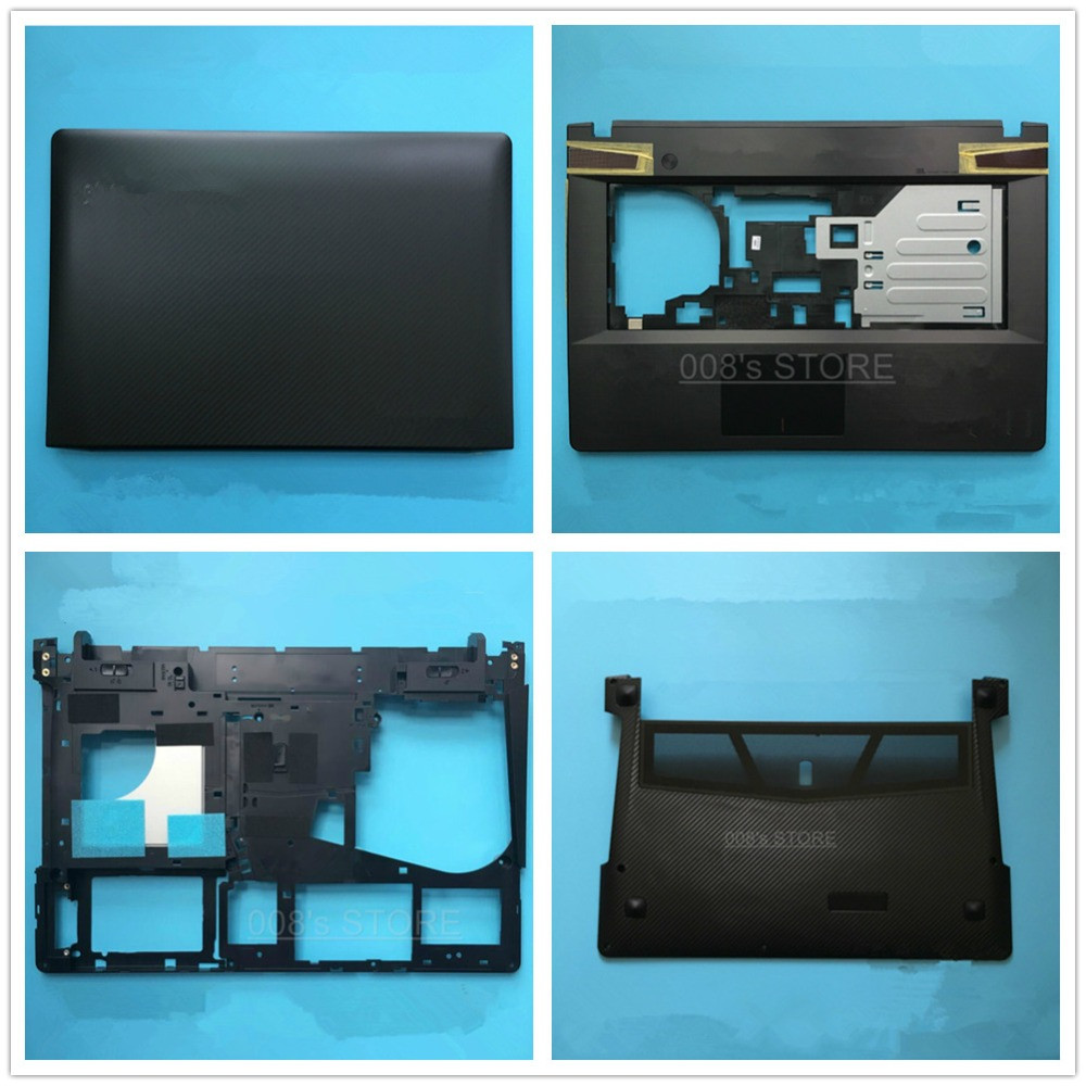 New Cover For Lenovo Ideapad Y400 Y410P Y410 Laptop LCD Back/front Bezel/Palmrest Upper/Bottom Base Case AP0RQ00070 90201978