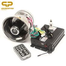 1set Super Loud Alarm Power 200w DC12V Wireless Control 12 Sound Car Train Boat Horn Multi-tone Megaphone Loudspeaker