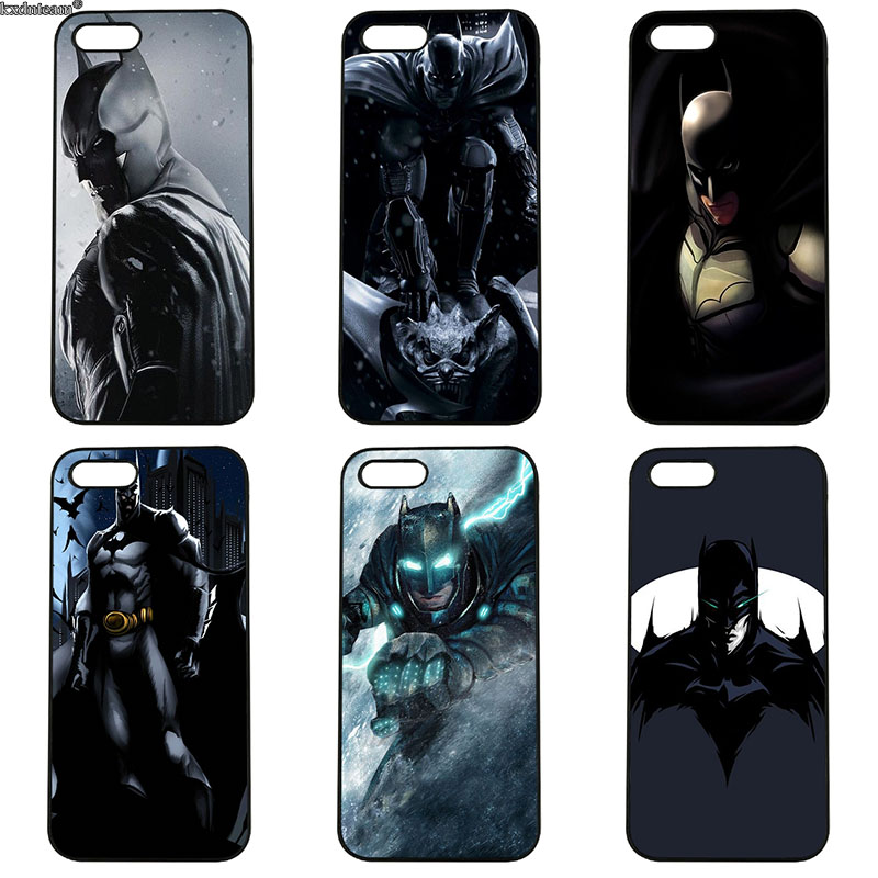 Hot Sale Hero Batman Dark Phone Cases for iphone 8 7 6 6S Plus X 5S 5C 5 SE 4 4S iPod Touch 4 5 6 Shell Anti-knock Hard PC Cover