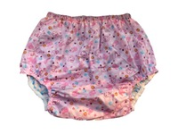 Haian Adult Incontinence Pull On PVC Print Cotton Pants PM003 5